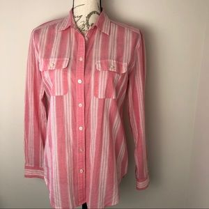 Ann Taylor Loft Button Down Shirt Size S